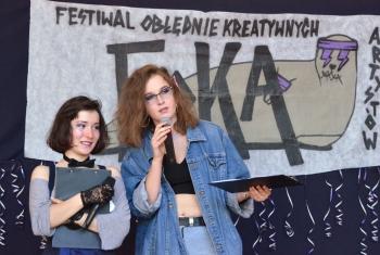 FOKA - prowadzące Zuzanna Piwowar i Julia Chyło