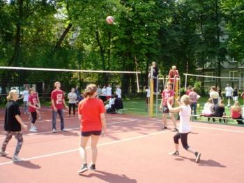 Fredrowskie Dni Sportu - otwarcie zawodów - zmagania siatkarzy