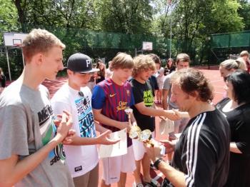 Fredrowskie Dni Sportu - zwycięzcy turnieju piłkarskiego