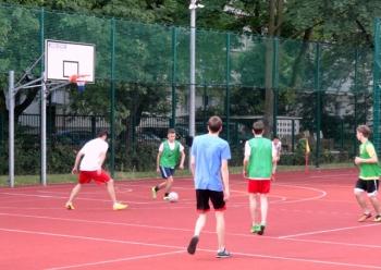 Fredrowskie Dni Sportu - mecz piłki nożnej