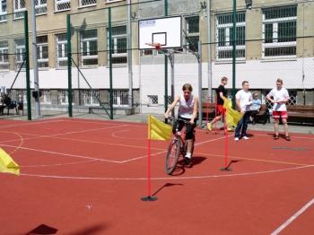 Fredrowskie Dni Sportu - rowerowy tor przeszkód