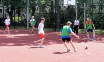 Fredrowskie Dni Sportu - rywalizacja piłkarska