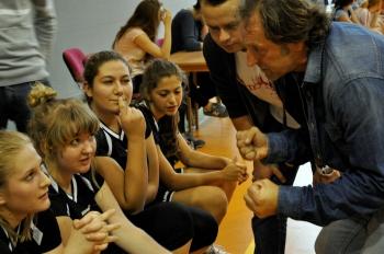 Drużyna koszykówki - uwagi trenerów