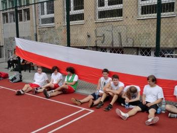 Fredrowskie Dni Sportu - odpoczynek po meczu
