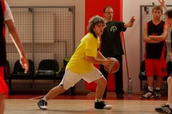 Na turnieju koszykówki