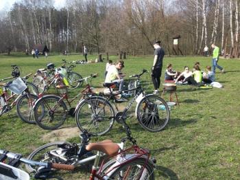 Sekcja rowerowa - relaks po wysiłku