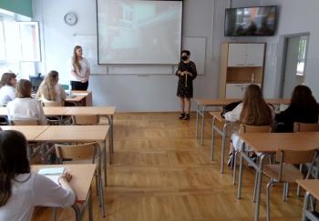 Podziękowania i gratulacje od pani dyrektor Joanny Kalety-Szabłowskiej