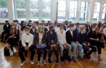Klasa I C z wych. panią Moniką Mierzejewską