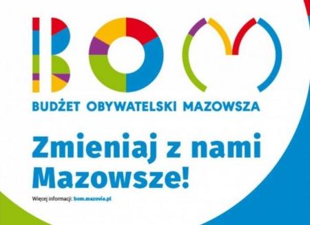 Budżet Obywatelski Mazowsza - weź sprawy w swoje ręce, zagłosuj na Twój projekt!