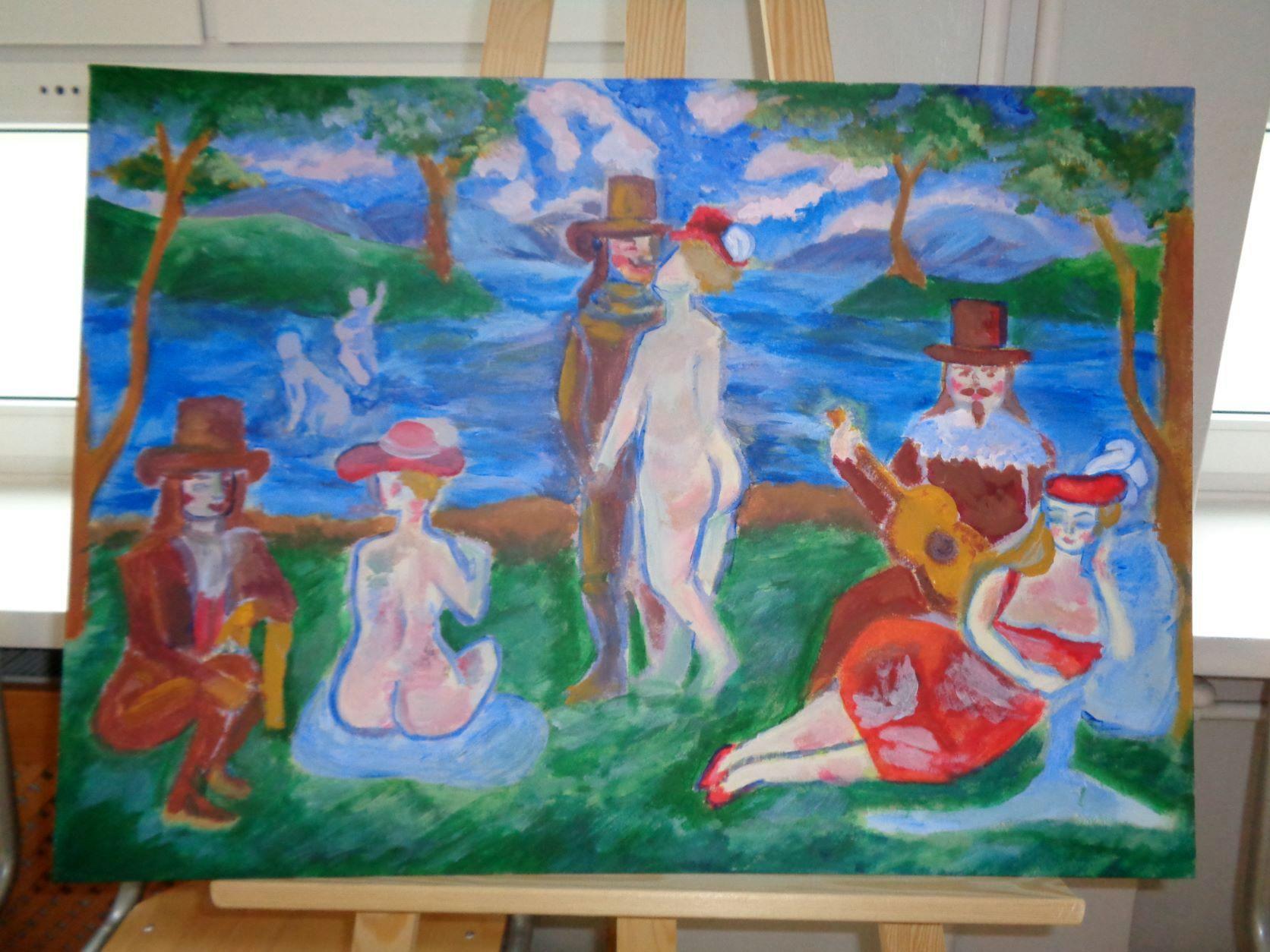 Wystawa prac - FredroPlener 2021'